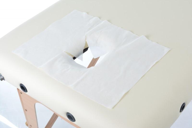 Салфетки для массажного стола с отверствием Х