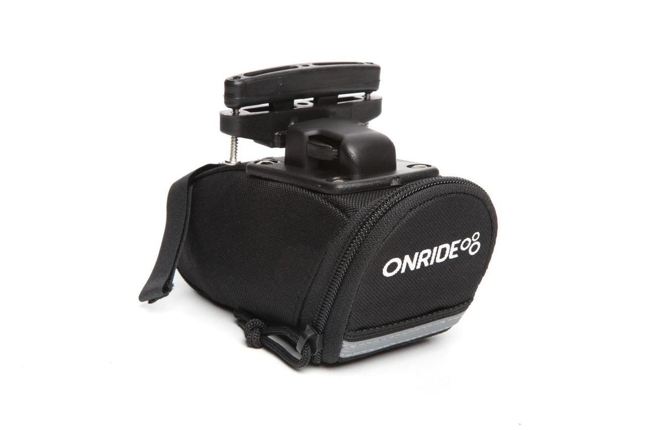 Сумка подседельная ONRIDE Seat C T-System, чёрный