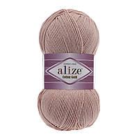 Пряжа Alize Cotton Gold 161 пудра (Ализе Коттон Голд) хлопок акрил