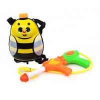 Водный пистолет с рюкзаком для воды Пчелка 988-8