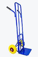 Тележка складская для объёмных грузов с откидной платформой ТС-07УПу