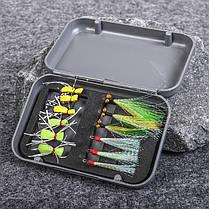 LEO12шт.РыбалкаИмитациянасекомых Рыбалка Крюк На открытом воздухе Переносной Рыбалка Инструмент - 1TopShop, фото 3
