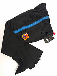 Штаны тренировочные Barcelona в стиле Nike детские черные