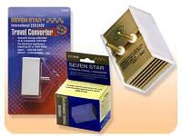 Понижающий трансформатор 1600W 220-110V lite (конвертер), фото 1