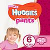 Підгузки-трусики дитячі Huggies Pants для дівчаток 6 (15-25 кг), 60 шт