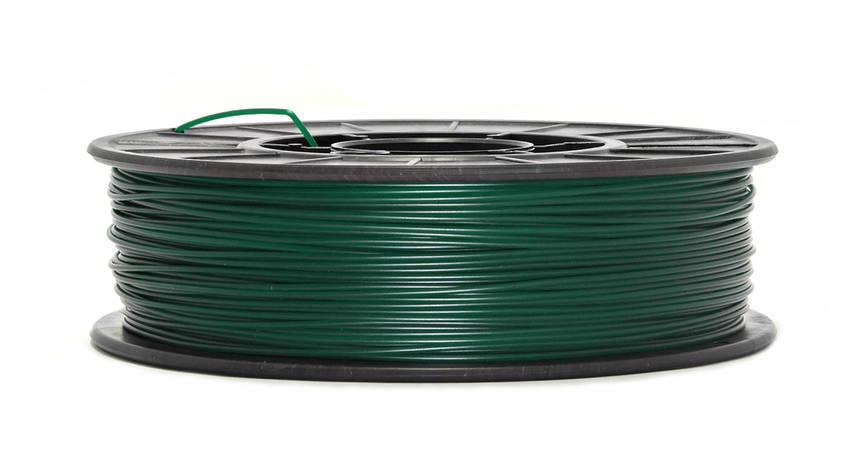 Темно-зеленый PLA (1.75 мм/0.75 кг), фото 2