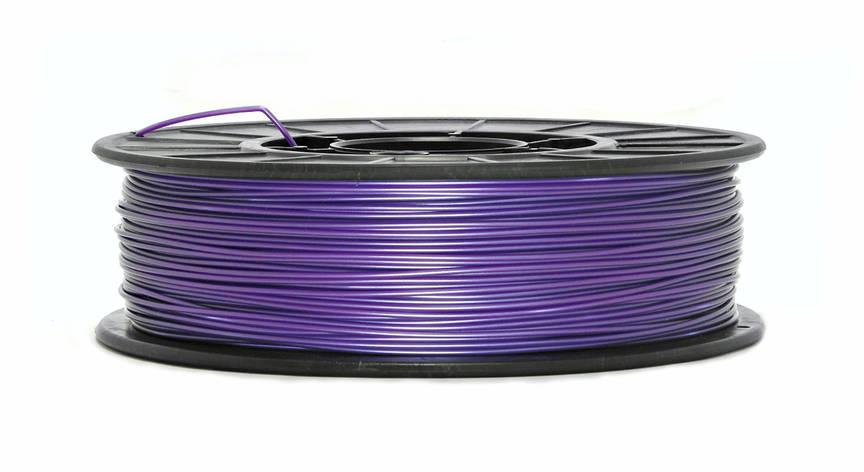 Фиолетовый металлик PLA (1.75 мм/0.75 кг), фото 2