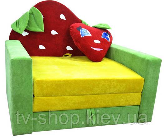 Детский диван Клубничка