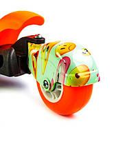 """Самокат Scooter """"Пчелка"""" 5in1 Orange, фото 3"""