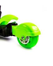 """Самокат детский Scooter """"Пчелка"""" 5in1 Green, фото 3"""