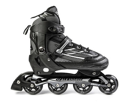 Ролики Scale Sports.Adult Skates. Black размер 41-44, фото 2
