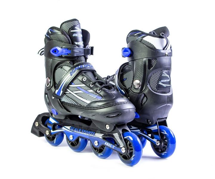 Ролики Scale Sports.Adult Skates Blue размер 41-44