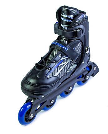 Ролики Scale Sports.Adult Skates Blue размер 41-44, фото 2