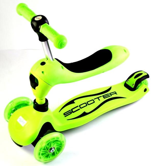 Самокат-трансформер Scale Sports. Green.
