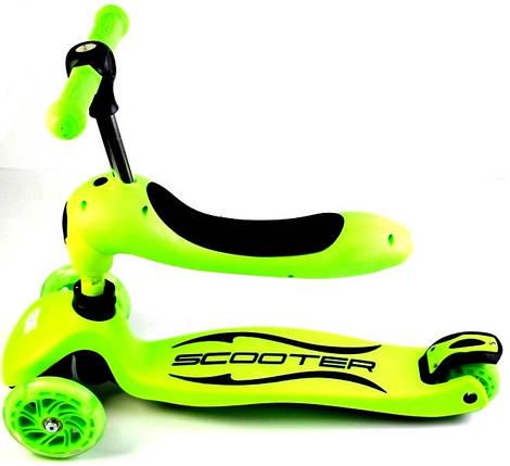 Самокат-трансформер Scale Sports. Green., фото 2