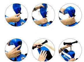 Самокат-трансформер Scale Sports. Blue. , фото 3