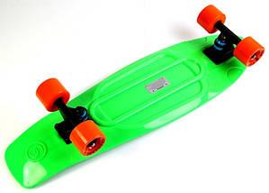 "Скейт ""Penny Board"" Original Nickel ""Fish"" Green., фото 3"