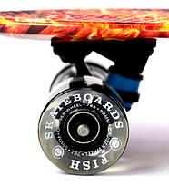 """Скейт """"Penny Board"""" """"Fish"""" Fire and Ice., фото 3"""