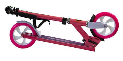 Самокат Scale Sports SS-05 розовый двухколесный, фото 3