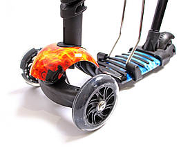 Самокат Scooter. 5в1. Огонь и Лёд, фото 3