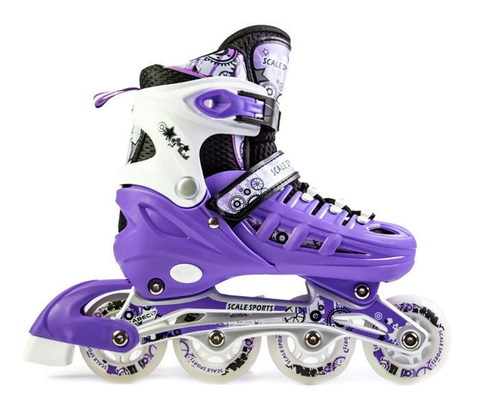 Ролики Scale Sport. Violet размер 29-33