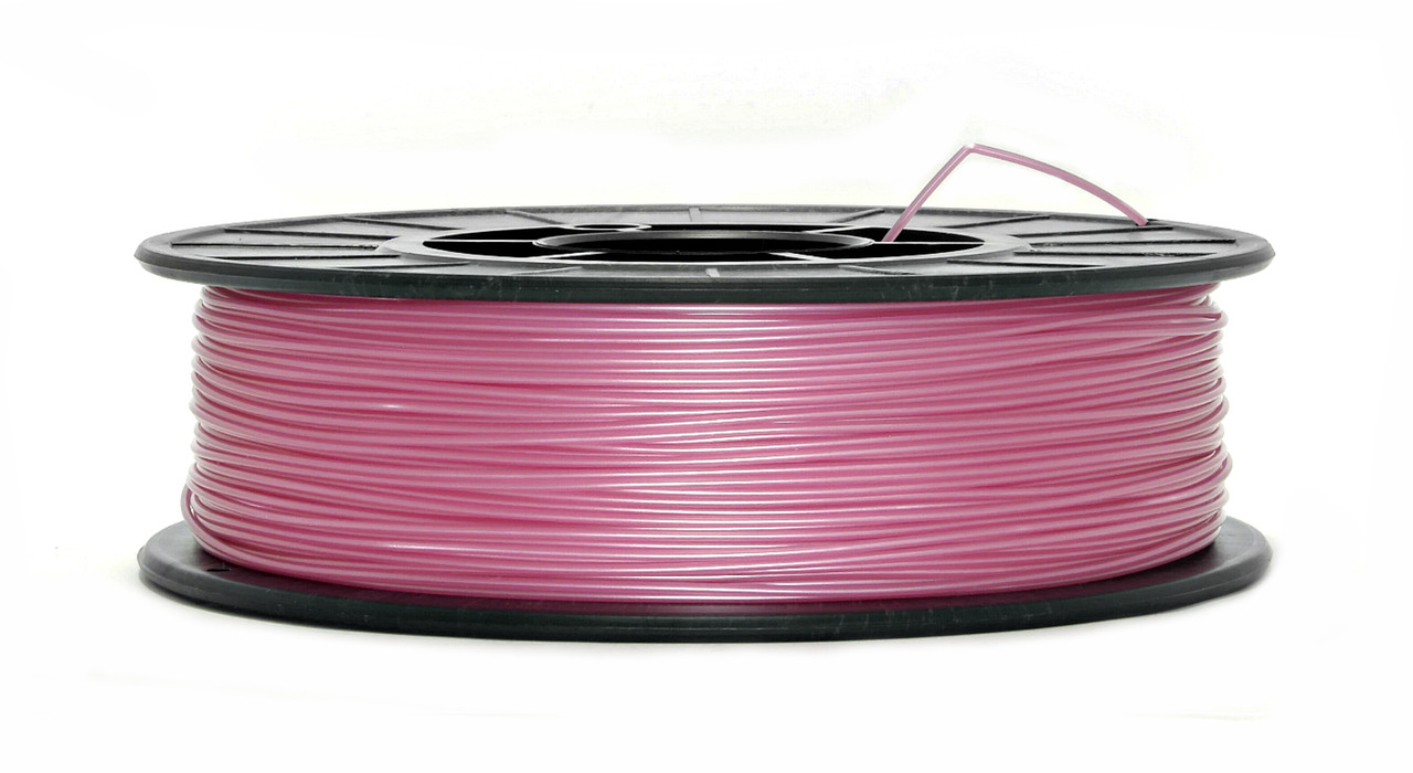 Нить PLA (ПЛА) пластик для 3D печати, Розовый металлик (1.75 мм/0.75 кг)
