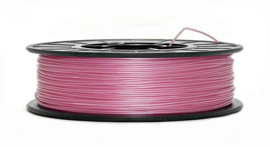 Нить PLA (ПЛА) пластик для 3D печати, Розовый металлик (1.75 мм/0.75 кг), фото 2