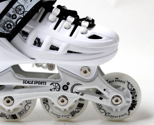 Ролики Scale Sport. White размер 34-37, фото 2