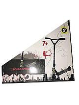 Трюковый самокат Scale Sports Tornado черный, фото 2
