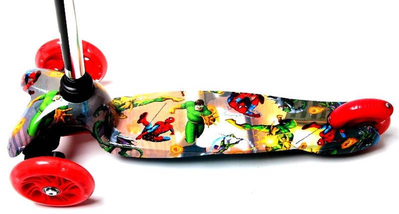 Самокат детский Mini Best. Spiderman, фото 2