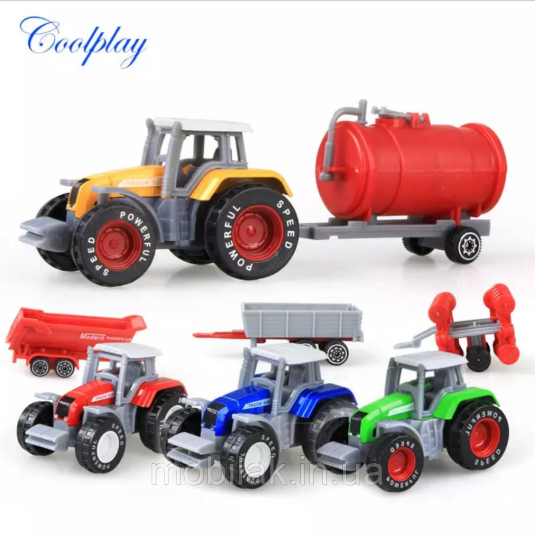 Игрушка - сельскохозяйственная техника