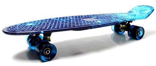 "Скейт ""Penny Board"" Nickel 27"" ""Spice"" Светящиеся колеса, фото 2"