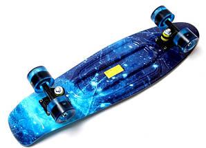 "Скейт ""Penny Board"" Nickel 27"" ""Spice"" Светящиеся колеса, фото 3"