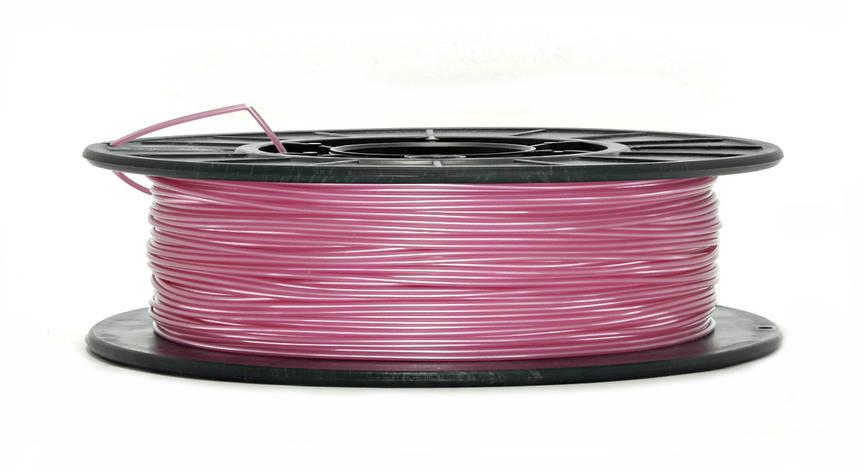 Нить PLA (ПЛА) пластик для 3D печати, Розовый металлик (1.75 мм/0.5 кг), фото 2