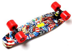"Скейт ""Penny Board"" ""Graffiti"" NBA, фото 3"
