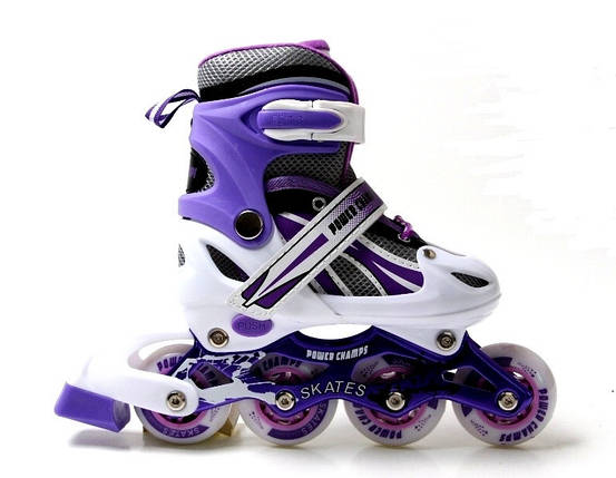 Ролики Power Champs. Violet размер 34-37, фото 2