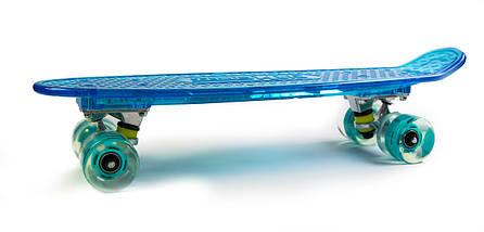 """Скейт """"Penny"""" """"Fish Skateboard Original"""" Blue. Музыкальная и светящаяся дека, фото 3"""