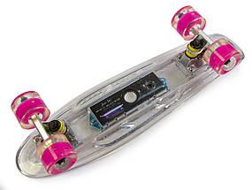 """Скейт """"Penny"""" """"Fish Skateboard Original"""" Музыкальная и светящаяся дека, фото 2"""