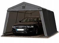 Павильон гаражный 3,3x4,8 м ПВХ 500 г/м² (Серый), фото 1