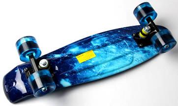 "Скейт ""Penny Board""  ""Spice"" Blue, фото 3"