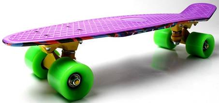 "Скейт ""Penny Board"" ""Marco's"" Violet 2in1, фото 3"