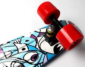 """Скейт """"Penny Board"""" """"Marco's"""" Blue 2in1, фото 2"""
