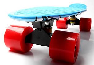 """Скейт """"Penny Board"""" """"Marco's"""" Blue 2in1, фото 3"""