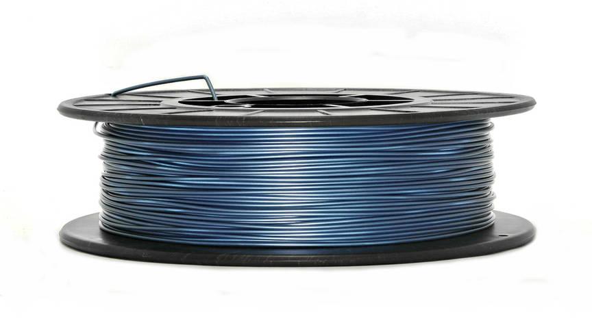 Синий металлик PLA (1.75 мм/0.5 кг), фото 2