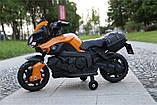 Ел-мобіль T-7218 мотоцикл 6V4.5AH мотор 1*25W з MP3, фото 4