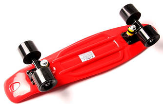 "Скейт ""Penny Board"" ""Fish""Красный цвет., фото 2"