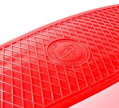 "Скейт ""Penny Board"" ""Fish""Красный цвет., фото 3"