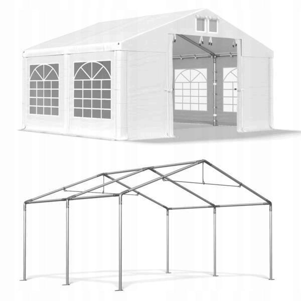 Весільний павільйон, торговий, гаражний 4x4 м ПВХ 560 г/м2