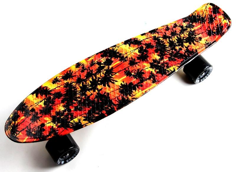 "Скейт ""Penny Board"" ""Fish"" Palm."