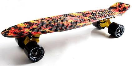 "Скейт ""Penny Board"" ""Fish"" Palm., фото 2"